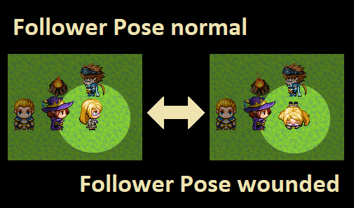 How to Change Follower Pose in RPG Maker MV