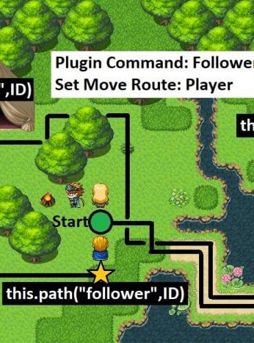 Follower Control v2.00 for RPG Maker MV