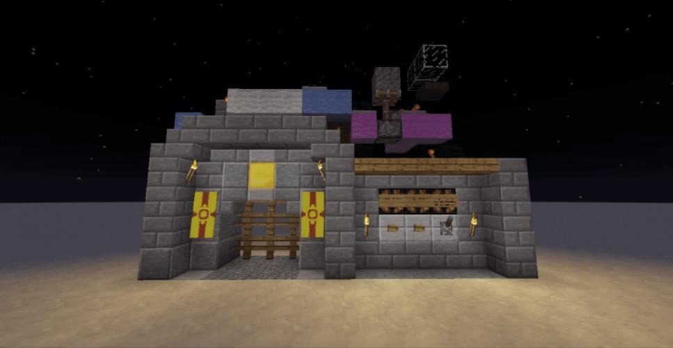 2-High Pegasus Portcullis Piston Gate