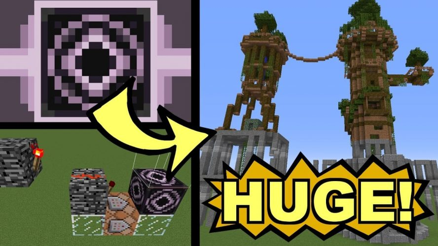 How to Load Huge Structures In One Structure Block - Minecraft