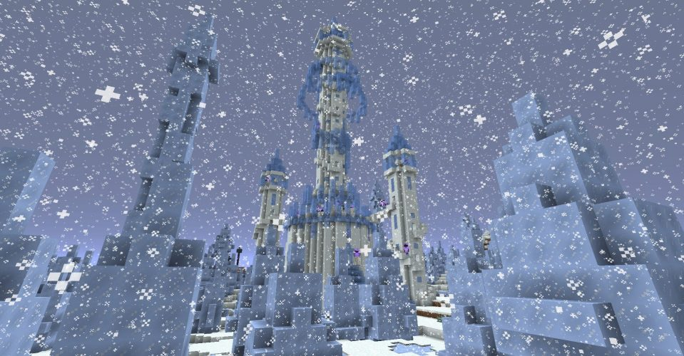 Ice Spikes Spire by Tyruswoo