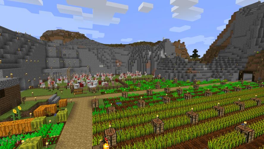 Llama Breeding for Max Inventory in Minecraft