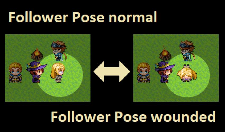How to Change Follower Pose in RPG Maker MV